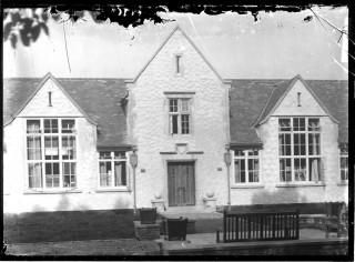Front of Grammar School, built 1927 | Jesse Taylor