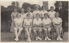 Girls Rounders 1957