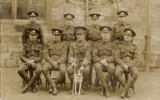 Cadet Corps with Lieut. 'Dixey' Cossins 1916