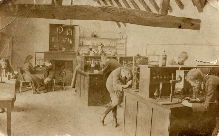 1897 Improvements to Chemical Laboratory.