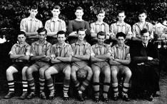 Boys First XI Football 1958-59