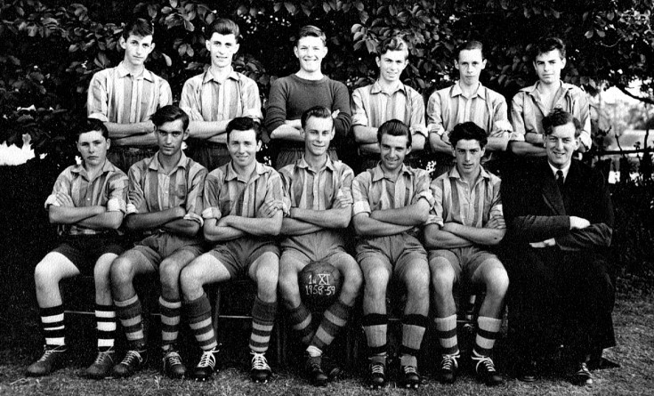 1958-59 First XI Football Team