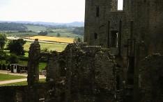 Raglan Castle July 1979