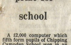 Computer Prize for School February 1981