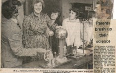 Parents Brush up on their Science 1980