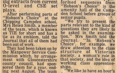 Plays to Help Pupils with Examinations 1978
