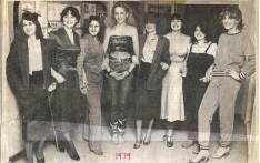 School Girls as Fashion Models Dec 1979