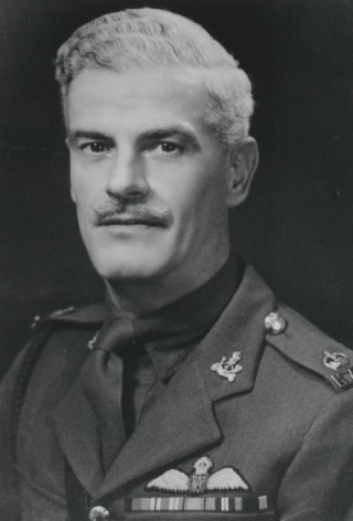 Arthur Ellis, in the uniform of the Kings African Rifles, in WWII.