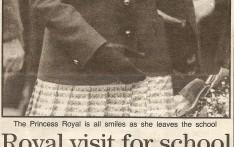 Royal visit for school celebrating 550 years