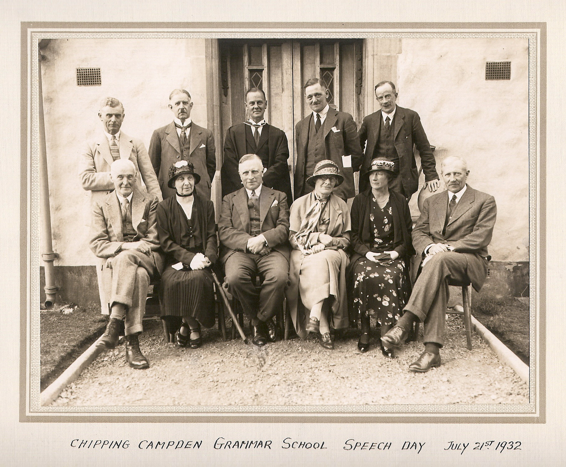Speech Day 21st July 1932