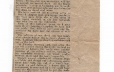Report on Snow 1916 Evesham Journal