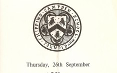 Speech Day Programmes