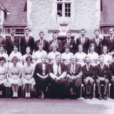 Prefects and senior staff at Grammar School c. 1962/63