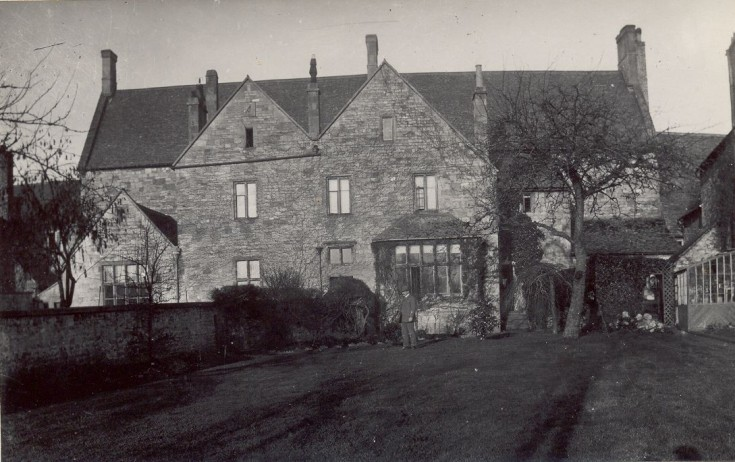 Old Grammar School, rear, showing the Headmaster's house