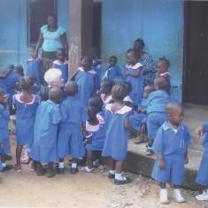 Judith in Bo, Sierra Leone, 2008