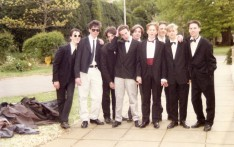 5th Form Dinner 1991