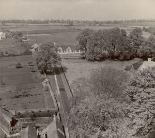 Aerial view of Grammar School