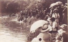 Swimming Sports 1913 at the Lake