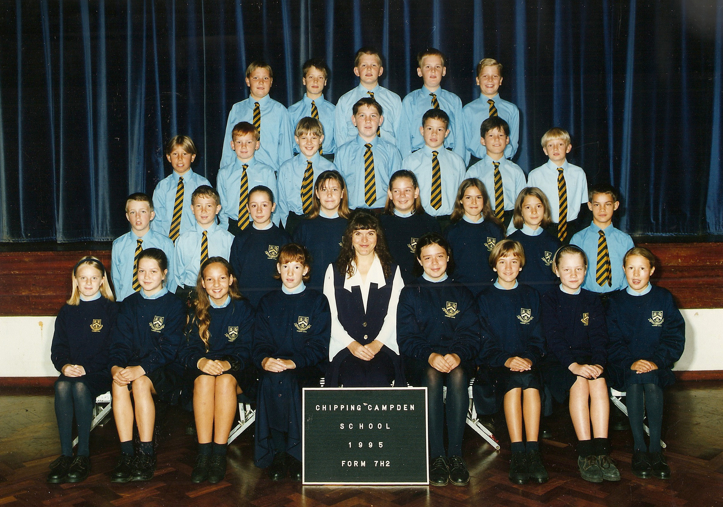 Year 7 Photos 1995