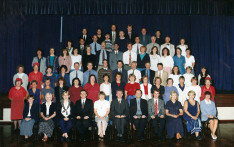 School Staff Group Photos