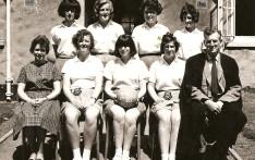 Girls Netball 1953-54