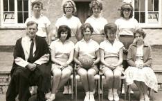 Girls Netball 1962-63