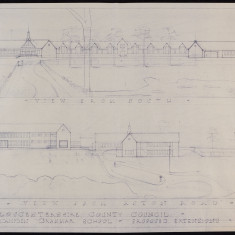 Architectural Plans for 1963 School Extension