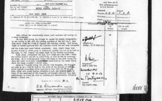 Mr A L Jones citation for Military Cross - 1943